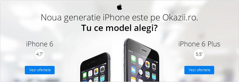 Noua generatie iPhone este pe Okazii.ro