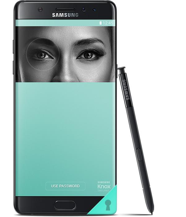 Iris scanner Samsung Galaxy Note7