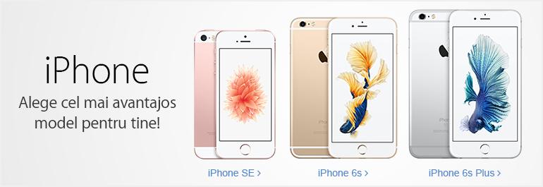 iPhone - Alege cel mai avantajosmodel pentru tine!