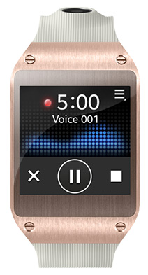 Voice Memo Galaxy Gear