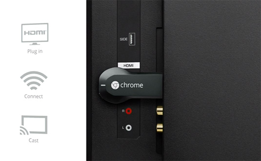 Conecatare Chromecast