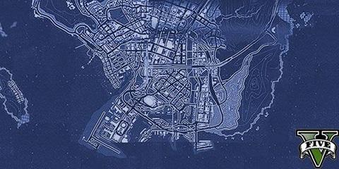 Harta GTA 5
