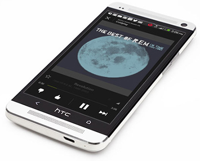 Sistem audio HTC One