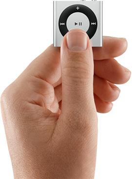 iPod Shuffle Manevrabilitate